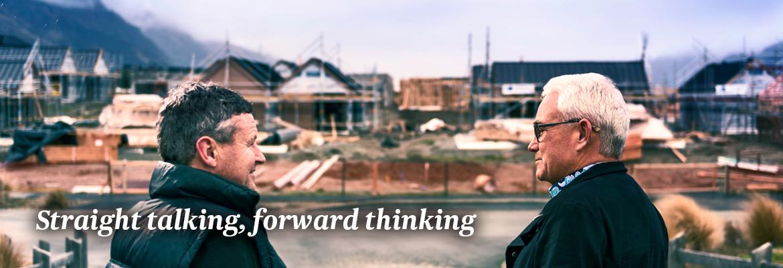 Straight talking, forward thinking