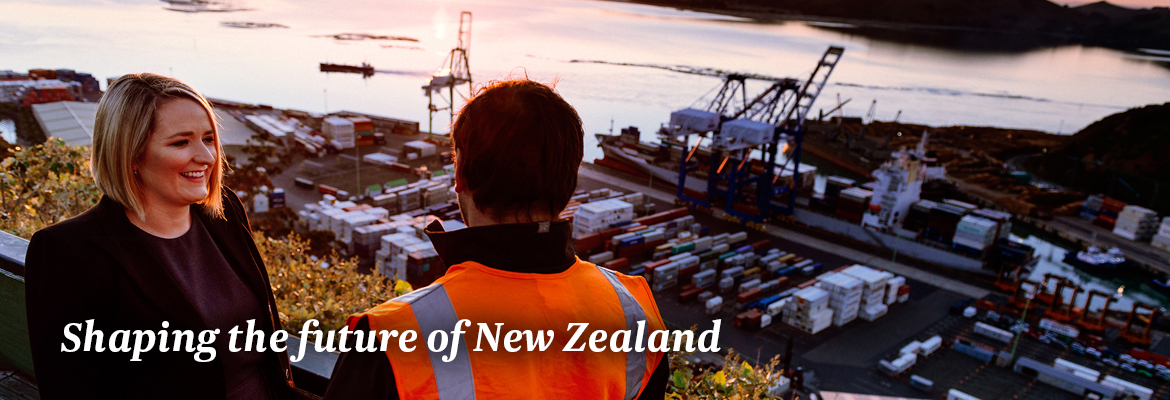 Shaping the future of New Zealand