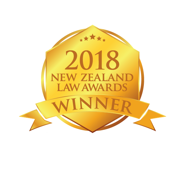 2018 New Zealand Law Awards Winner
