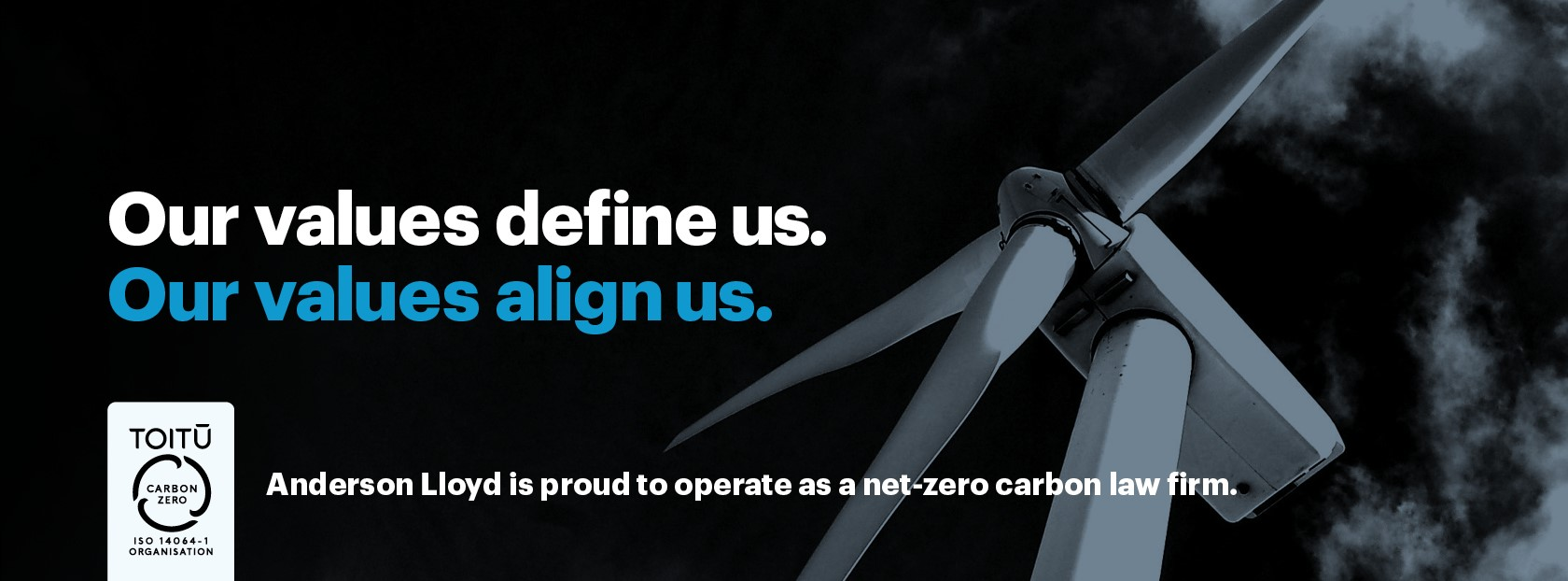 Anderson Lloyd is proud to operate as a net-zero carbon law firm