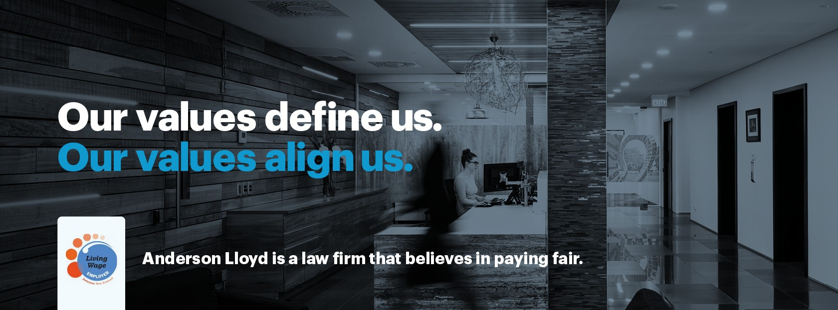 Anderson Lloyd is a law firm that believes in paying fair